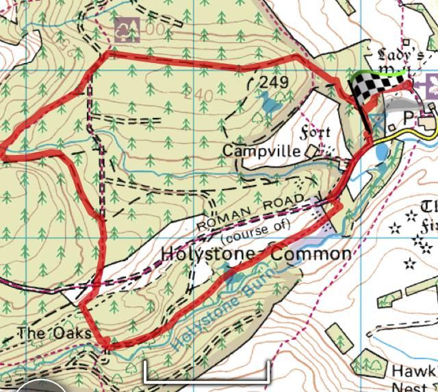 Holystone walk