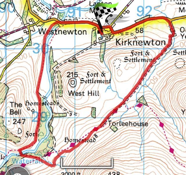 Kirknewton to Hethpool