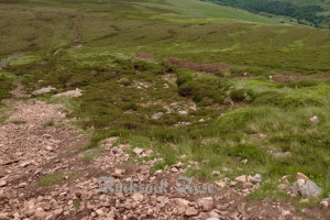 Path damage and erosion on The Cheviot