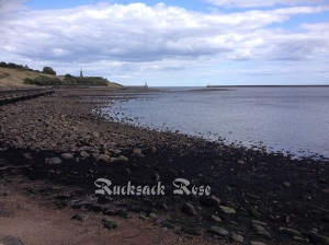 The mouth of the River Tyne from the north bank near North Shields