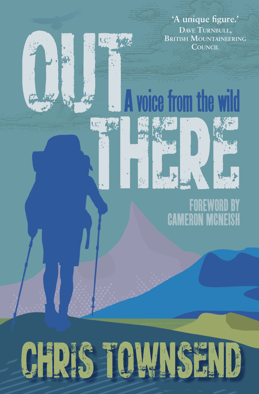 OUT THERE by Chris Townsend Book Jacket
