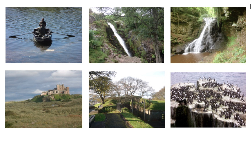 6 short walks in Northumberland