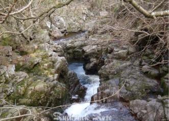 Hethpool Linn waterfall