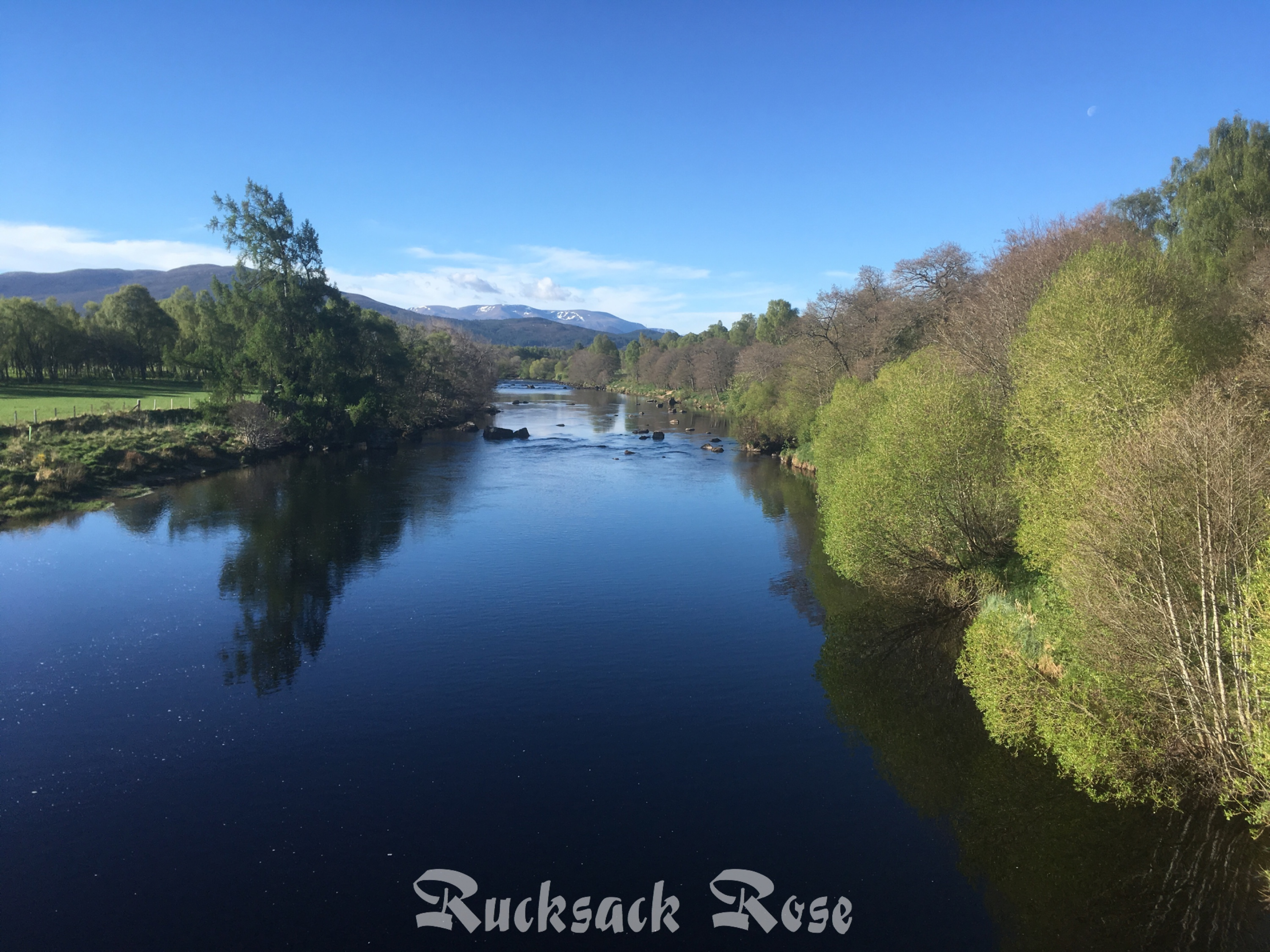 Crossing the Spey