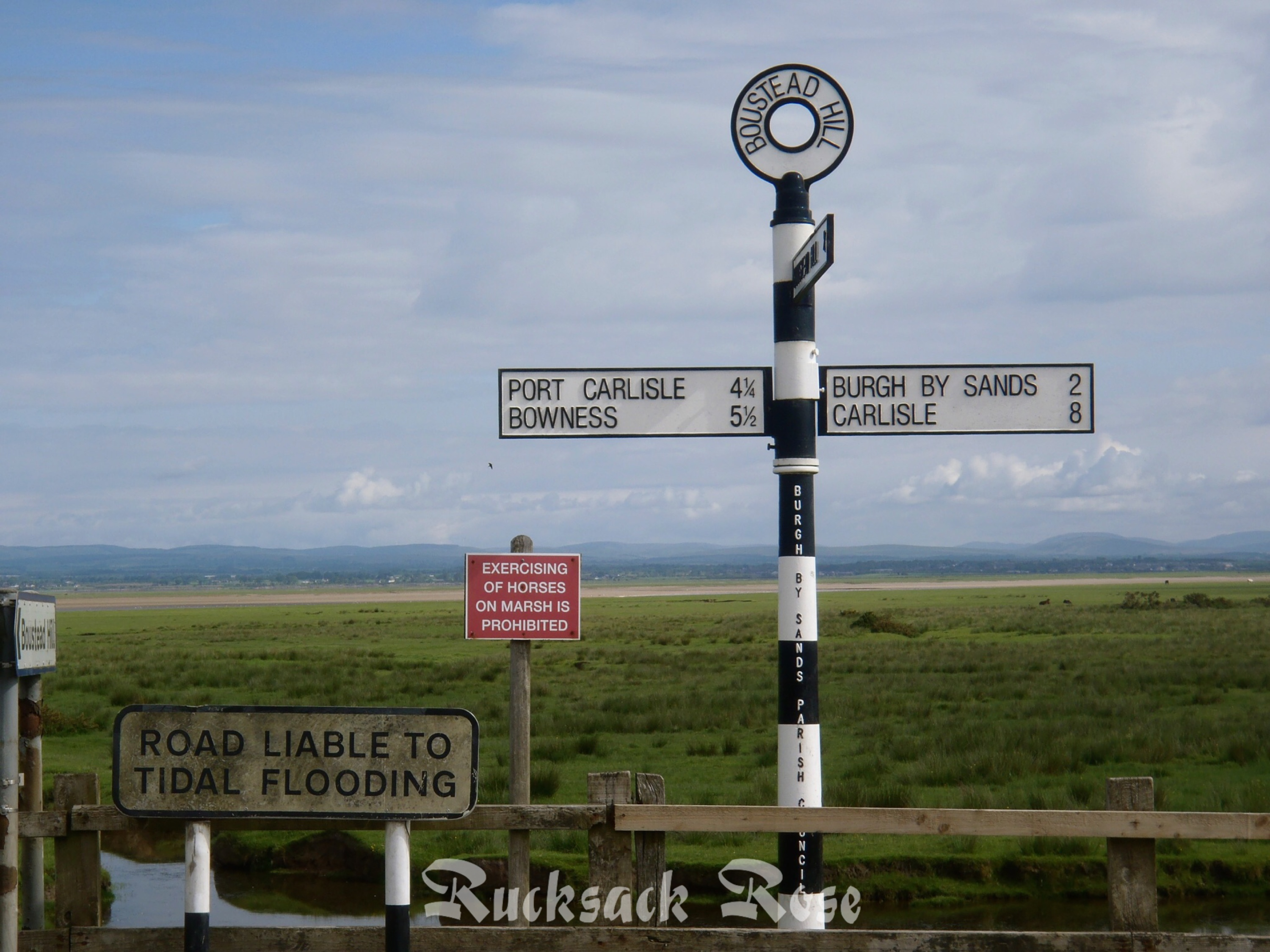 Solway Firth signs