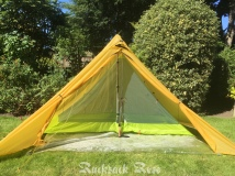 Getting to grips with pitching & ground sheet on my preloved shelter