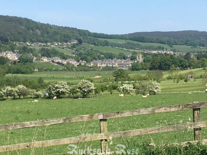 Across Coquet Valley